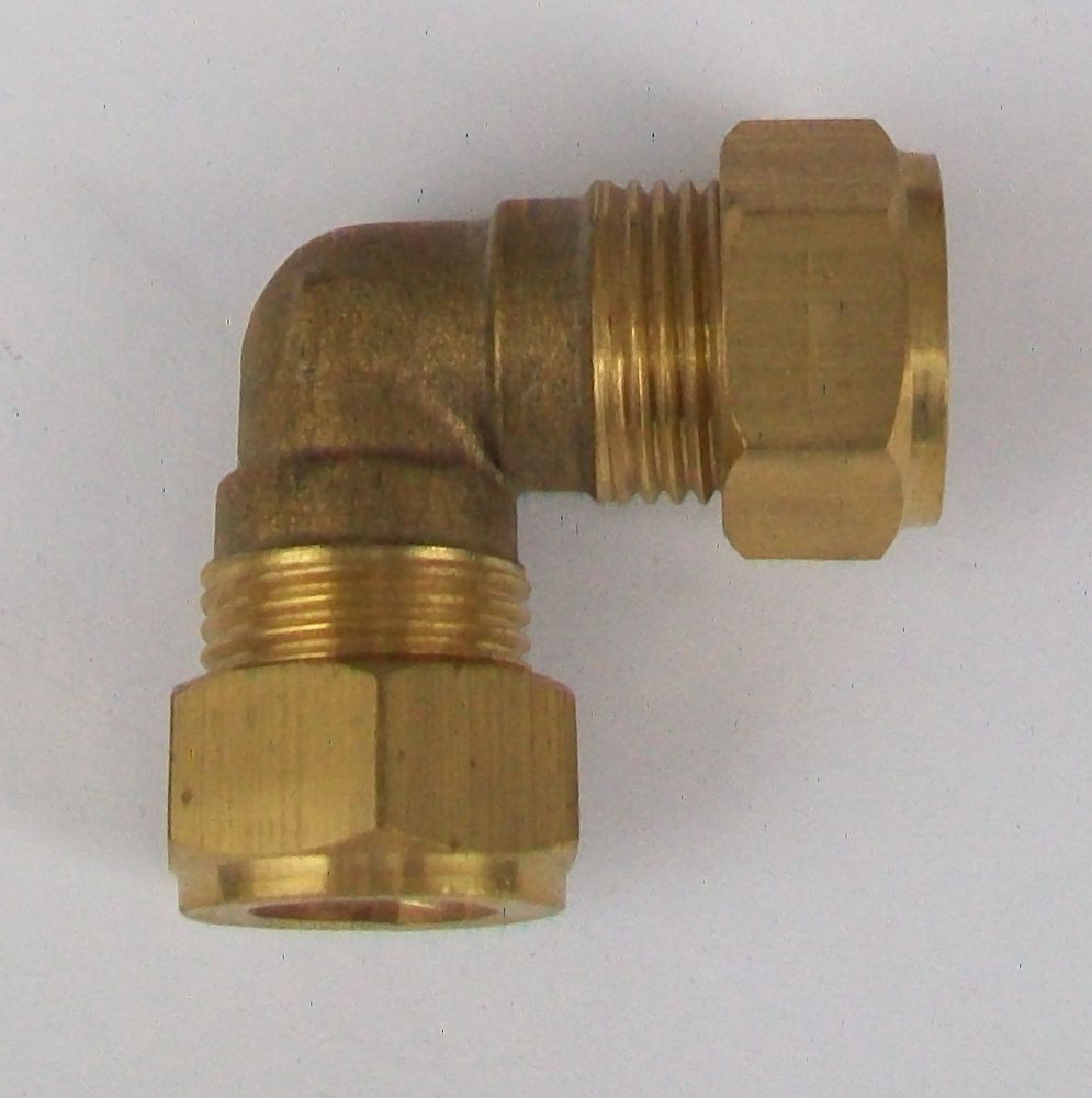 Brass Compression 12mm Microbore Elbow 24441200